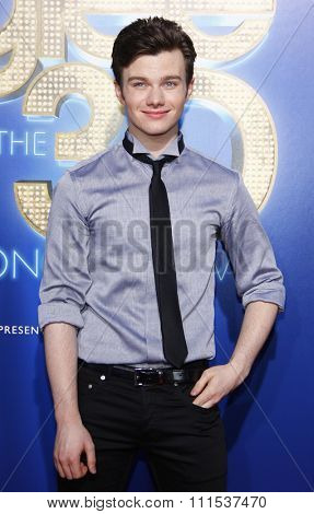 Chris Colfer at the Los Angeles premiere of 'Glee: The 3D Concert Movie' held at the Regency Village Theatre in Westwood on August 6, 2011.