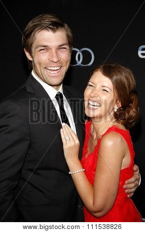 Liam McIntyre at the Los Angeles premiere of