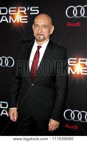 Sir Ben Kingsley at the Los Angeles premiere of