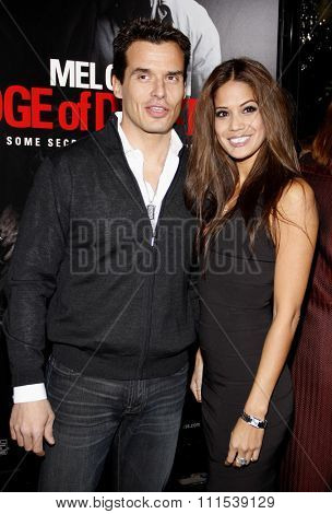 Antonio Sabato Jr at the Los Angeles premiere of Edge Of Darkness held at the Grauman Chinese Theatre in Hollywood on January 26, 2010.