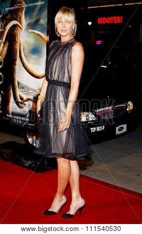 Maria Sharapova attends the Los Angeles Premiere of