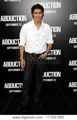 BooBoo Stewart at the Los Angeles premiere of 'Abduction' held at the Grauman's Chinese Theater in Los Angeles on September 15, 2011.