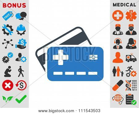Medical Insurance Cards Icon