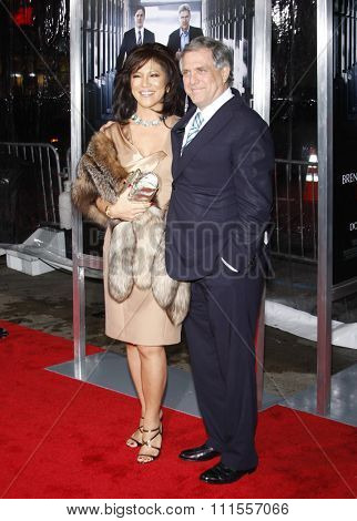 Julie Chen at the Los Angeles premiere of 'Extraordinary Measures' held at the Grauman's Chinese Theater in Hollywood, USA on January 19, 2010.