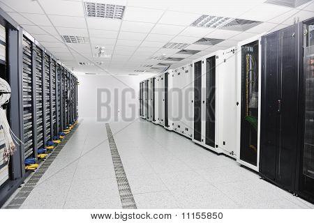Sala de servidores de red