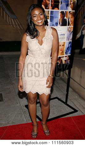 HOLLYWOOD, CA - APRIL 19, 2010: Tatyana Ali at the Los Angeles premiere of 'Mother and Child' held at the Egyptian Theater in Hollywood, USA on April 19, 2010.