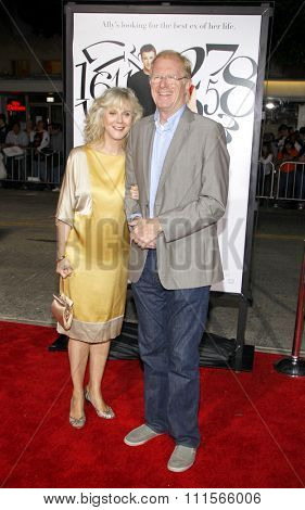 WESTWOOD, CA - SEPTEMBER 19, 2011: Blythe Danner and Ed Begley Jr. at the Los Angeles premiere of 'What's Your Number?' held at the Westwood Village Theater in Westwood, USA on September 19, 2011.