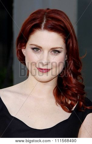 HOLLYWOOD, CA - JUNE 21, 2011: Alexandra Breckenridge at the HBO's season 4 premiere of 'True Blood' held at the ArcLight Cinemas in Hollywood, USA on June 21, 2011.