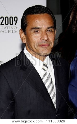 Antonio Villaraigosa at the 13th Annual Los Angeles Latino International Film Festival Opening Gala held at the Grauman's Chinese Theater in Hollywood, USA on October 11, 2009.