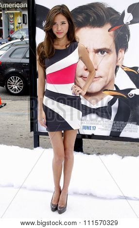 HOLLYWOOD, CA - JUNE 12, 2011: Kelsey Chow at the Los Angeles premiere of 'Mr. Popper's Penguins' held at the Grauman's Chinese Theatre in Hollywood, USA on June 12, 2011.