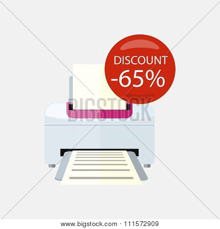 Sale of Household Appliances Printer