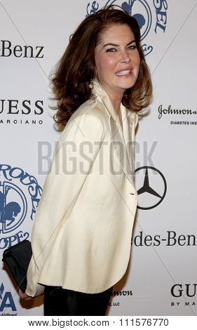 BEVERLY HILLS, CA - OCTOBER 25, 2008: Lara Flynn Boyle at the 30th Anniversary Carousel Of Hope Ball held at the Beverly Hilton Hotel in Beverly Hills, USA on October 25, 2008.