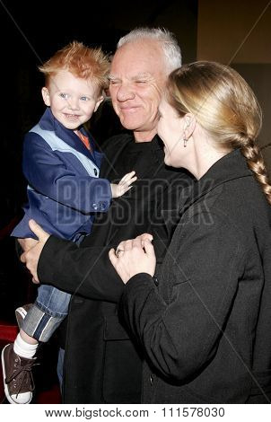 HOLLYWOOD, CA - DECEMBER 01, 2005: Malcolm McDowell at the World premiere of 'Aeon Flux' at the Cinerama Dome in Hollywood, USA on December 1, 2005.