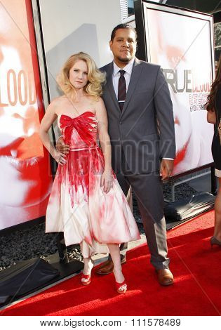 HOLLYWOOD, CA - MAY 30, 2012: Tara Buck at the HBO's 'True Blood' season 5 premiere held at the ArcLight Cinemas in Hollywood, USA on May 30, 2012.