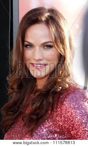 HOLLYWOOD, CA - MAY 30, 2012: Kelly Overton at the HBO's 'True Blood' season 5 premiere held at the ArcLight Cinemas in Hollywood, USA on May 30, 2012.