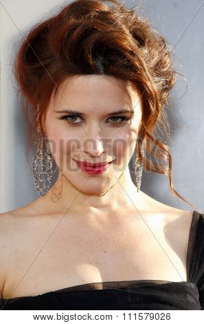 HOLLYWOOD, CA - MAY 30, 2012: Valentina Cervi at the HBO's 'True Blood' season 5 premiere held at the ArcLight Cinemas in Hollywood, USA on May 30, 2012.