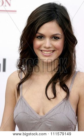 Rachel Bilson at the 75th Diamond Jubilee Celebration for the USC School of Cinema-Television held at the USC's Bovard Auditorium in Los Angeles, USA on September 26, 2004.