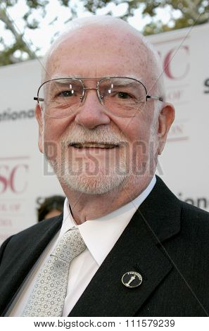 Frank Pierson at the 75th Diamond Jubilee Celebration for the USC School of Cinema-Television held at the USC's Bovard Auditorium in Los Angeles, USA on September 26, 2004.