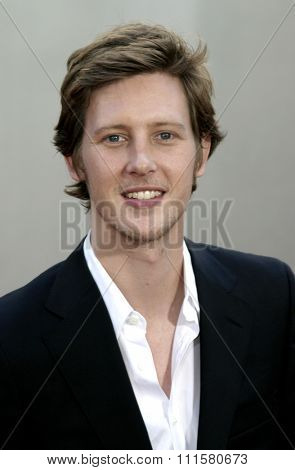 HOLLYWOOD, CA - JULY 15, 2004: Gabriel Mann at the World premiere of 'The Bourne Supremacy' held at the ArcLight Cinema in Hollywood, USA on July 15, 2004.