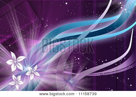 abstract purple composition