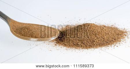 Cinnamon Powder Close Up