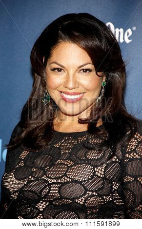 Sara Ramirez at the 24th Annual GLAAD Media Awards held at the JW Marriott Los Angeles at L.A. LIVE in Los Angeles, USA on April 20, 2013.