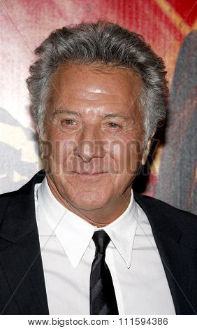 Dustin Hoffman at the Los Angeles premiere of HBO's