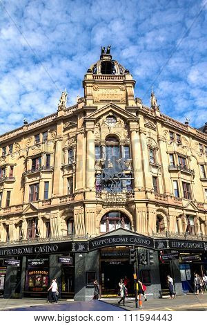 Famous  London Hippodrome Casino, Uk. London Hippodrome Was Built In 1900 By Frank Matcham As A Hipp