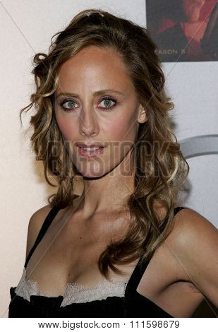 HOLLYWOOD, CALIFORNIA. December 4, 2006. Kim Raver attends the '24' Season Five DVD Release held at the Les Deux in Hollywood, California United States.