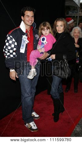 11/27/2005 - Hollywood - Antonio Sabato, Jr. attends the 2005 Hollywood Christmas Parade at the Hollywood Roosevelt Hotel in Hollywood, California, United States.