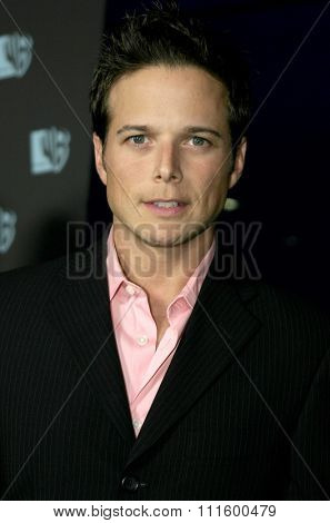 Scott Wolf at The WB Network's 2004 All Star Party- Red Carpet & Party at The Lounge At Astra West in Los Angeles, USA on July 14, 2004.