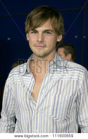 Tommy Dewey at The WB Network's 2004 All Star Party- Red Carpet & Party at The Lounge At Astra West in Los Angeles, USA on July 14, 2004.