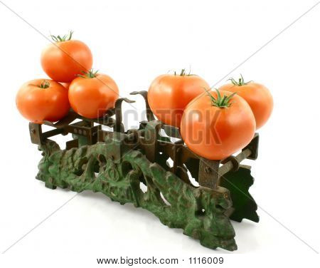 Tomatoes On Weight