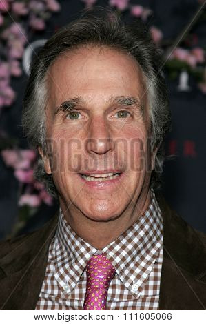 HOLLYWOOD, CALIFORNIA. December 4, 2005. Henry Winkler attends the Premiere of Memoirs of a Geisha at the Kodak Theater in Hollywood, California United States.