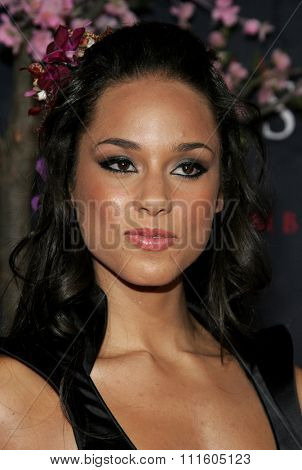 Alicia Keys attends The DreamWorks SKG and Sony Pictures Premiere of