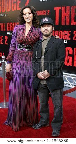 BUENA PARK, CALIFORNIA. October 8, 2006. Jennifer Beals and Takashi Shimizu attend the World Premiere of
