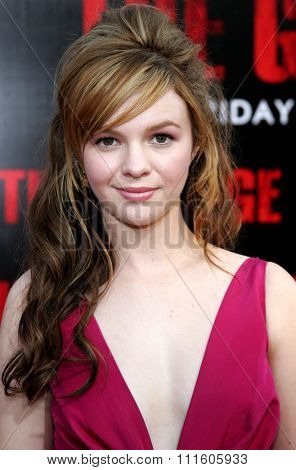 10/08/2006 - Buena Park - Amber Tamblyn at the World Premiere of