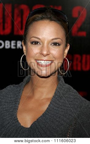 10/08/2006 - Buena Park - Eva LaRue at the World Premiere of
