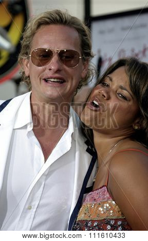HOLLYWOOD, CALIFORNIA - June 13 2005. Carson Kressley and Kimberley Locke attend at the