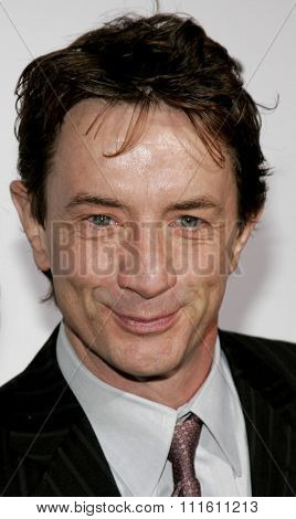 Martin Short at the Los Angeles premiere of 'The Producers' held at the Westfield Century City in Century City, USA on December 12, 2005.