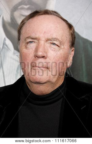 James Patterson at the Los Angeles premiere of 'Alex Cross' held at the ArcLight Cinemas in Los Angeles, USA on October 15, 2012.
