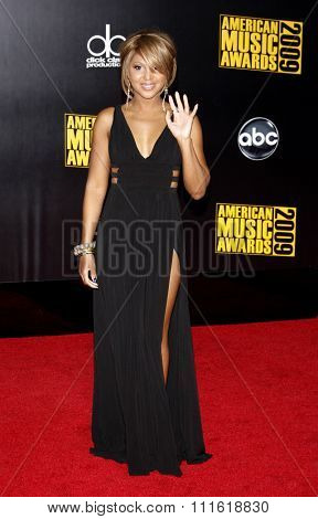 Toni Braxton at the 2009 American Music Awards at Nokia Theatre L.A. Live in Los Angeles, USA on November 22, 2009.