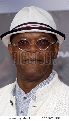 Samuel L. Jackson at the Los Angeles premiere of