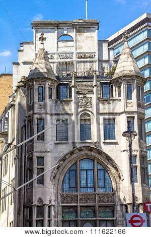 Grand Trunk Railway Building. London