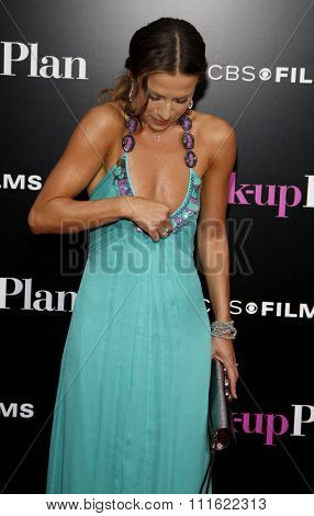 Edyta Sliwinska at the Los Angeles premiere of