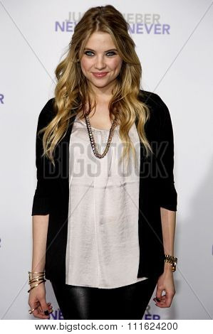 February 8, 2011. Ashley Benson at the Los Angeles premiere of