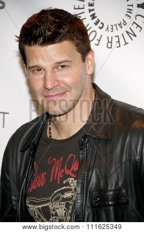 HOLLYWOOD, CALIFORNIA - March 8, 2012. David Boreanaz at the PaleyFest 2012 Presents