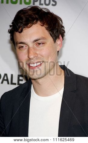 HOLLYWOOD, CALIFORNIA - March 8, 2012. John Francis Daley at the PaleyFest 2012 Presents