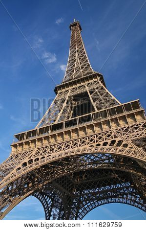 Eifel Tower In Paris, France