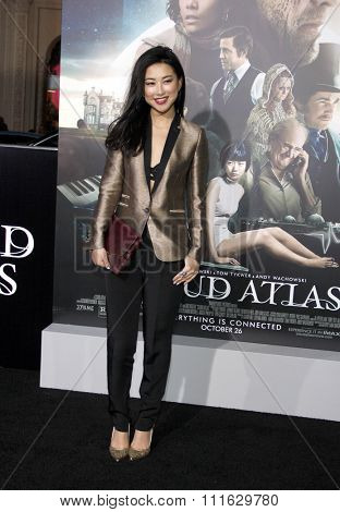 Zhu Zhu at the Los Angeles premiere of